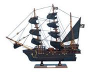 Wooden Thomas Tewandapos;s Amity Model Pirate Ship 14