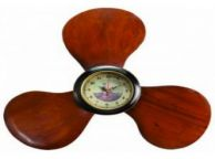 Wooden Propeller Clock 22