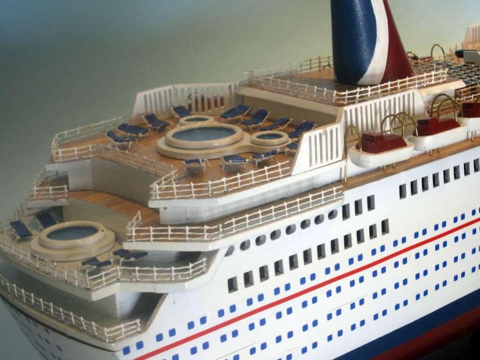 Carnival Ecstasy - Model cruise ship kits