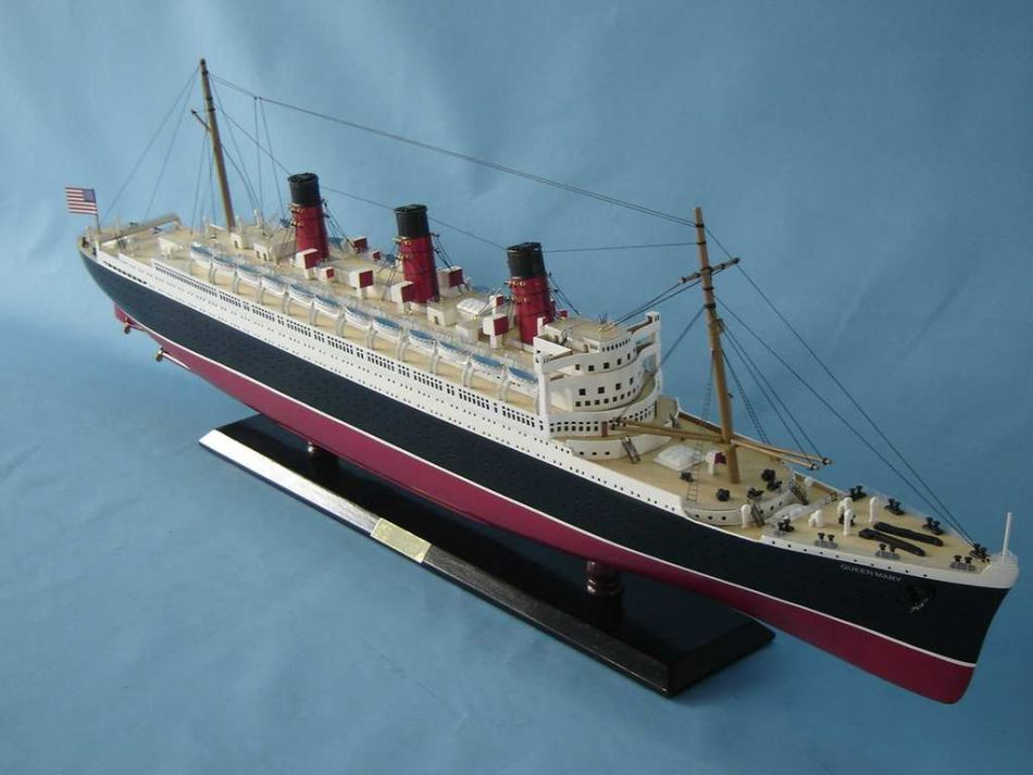 Buy Queen Mary Limited Model Cruise Ship 40 Inch Ship