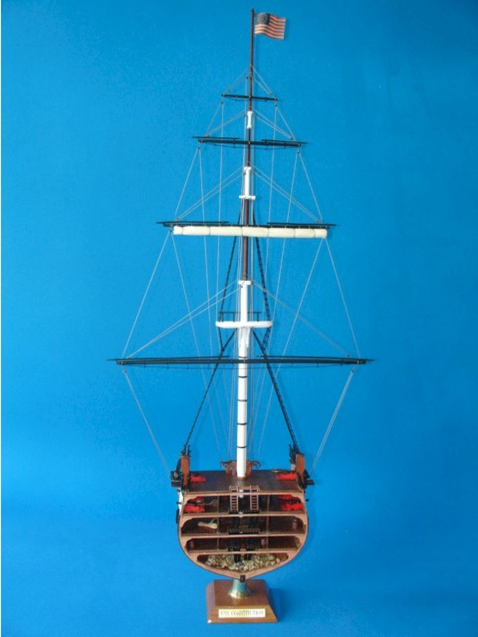 Buy Uss Constitution Cross Section Model Ships