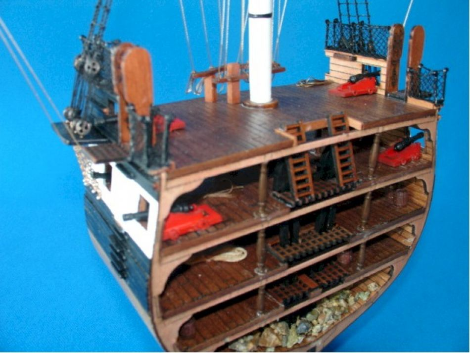 Lobster Boats For Sale >> Buy USS Constitution Cross Section - Model Ships