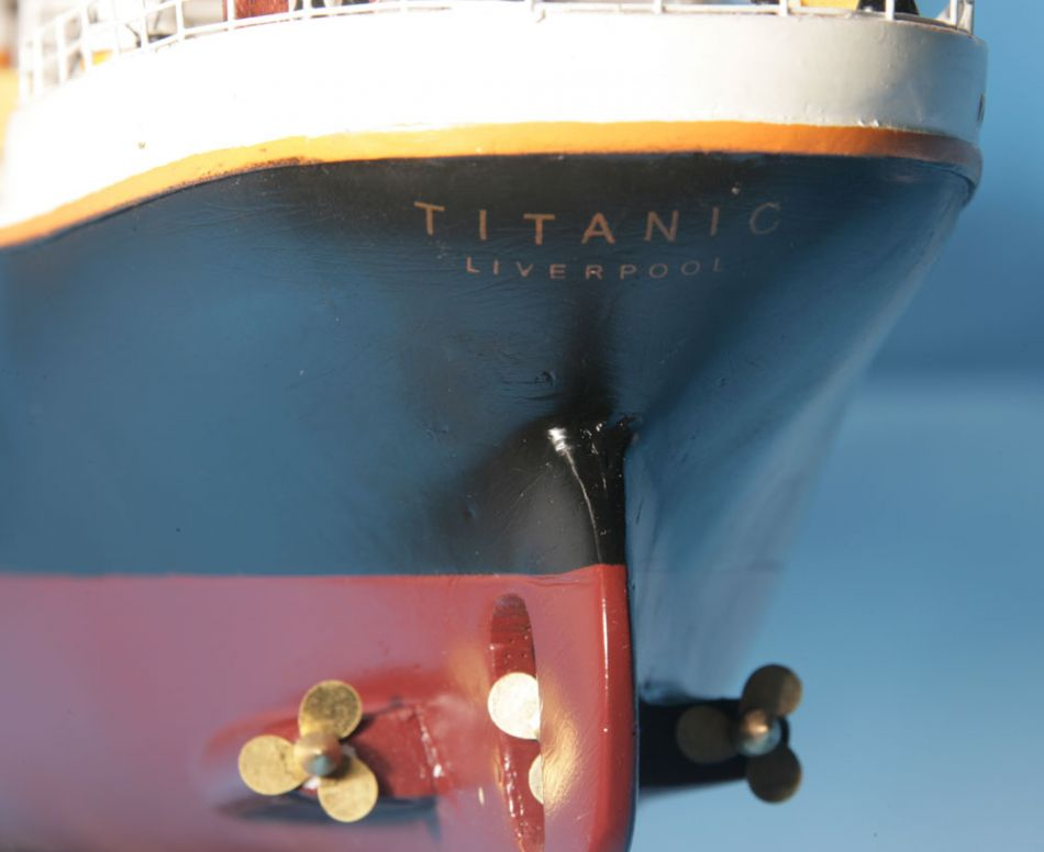 Model of the Titanic