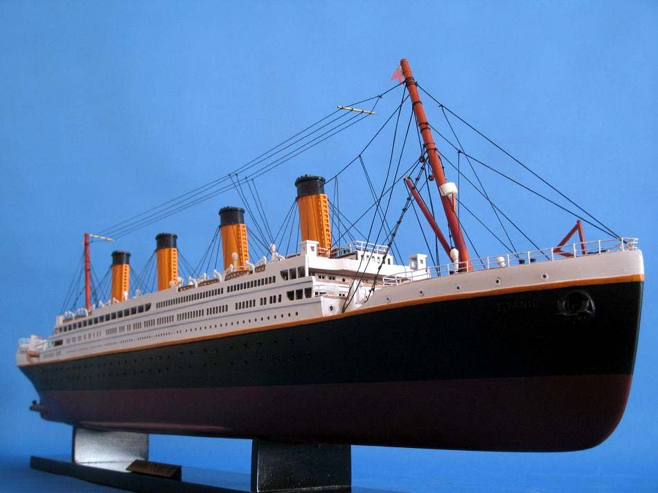 RMS Titanic Models are best kept off the bottom of the ocean.