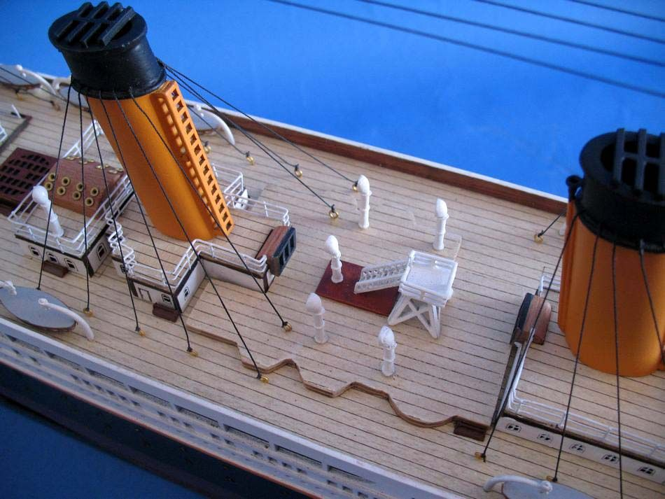 Titanic 40 Inch Cruise Ship Models Model Cruise Ships Wooden Ship