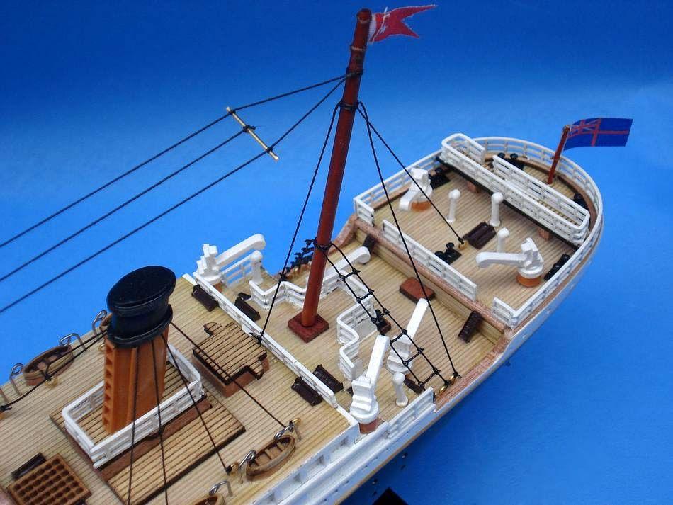 Titanic 20 Inch Cruise Ship Model Ocean Liner Model Model Wooden Boats