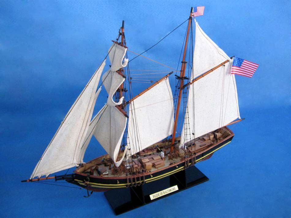 Buy Pride Of Baltimore 24in Model Ships