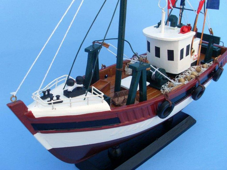 Buy stars and stripes 14 inch models boats fishing boat for Model fishing boats