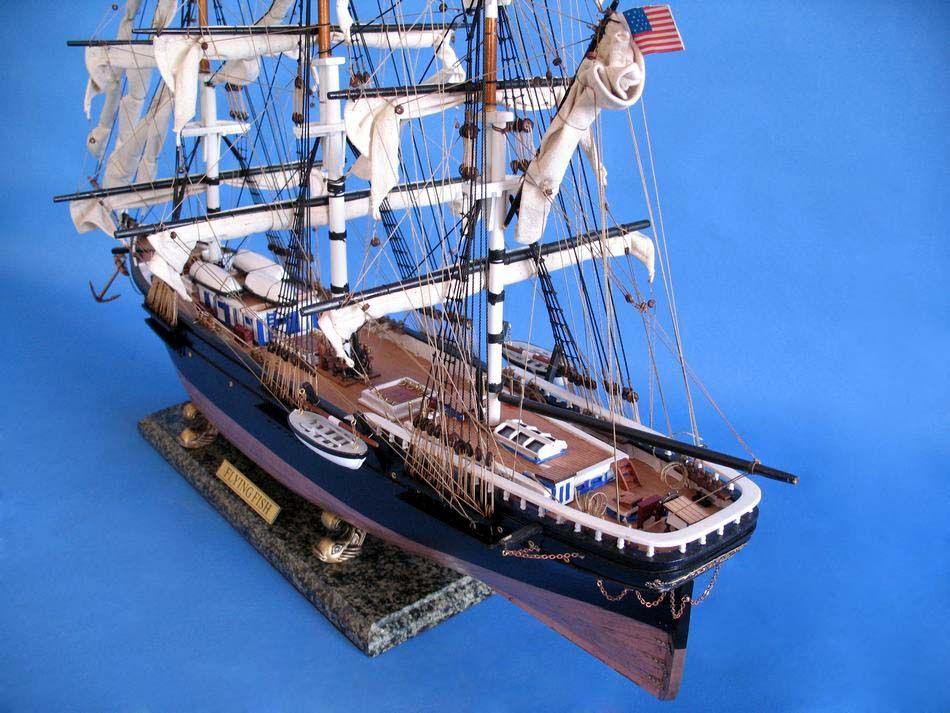 Buy Flying Fish 50 Inch Ship Model Model Tall
