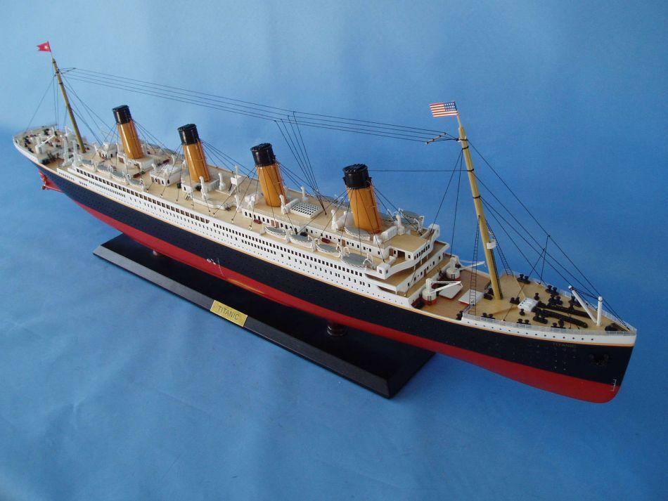 Model Titanic 1912