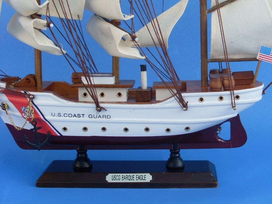 Wholesale uscg eagle 14 inch wholesale coast guard ships for Alex cherry eagles become wall mural