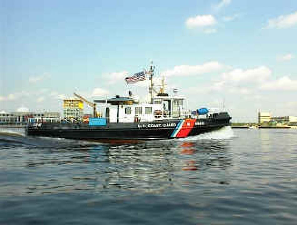 Buy United States Coast Guard Uscg Harbor Tug Model Boat
