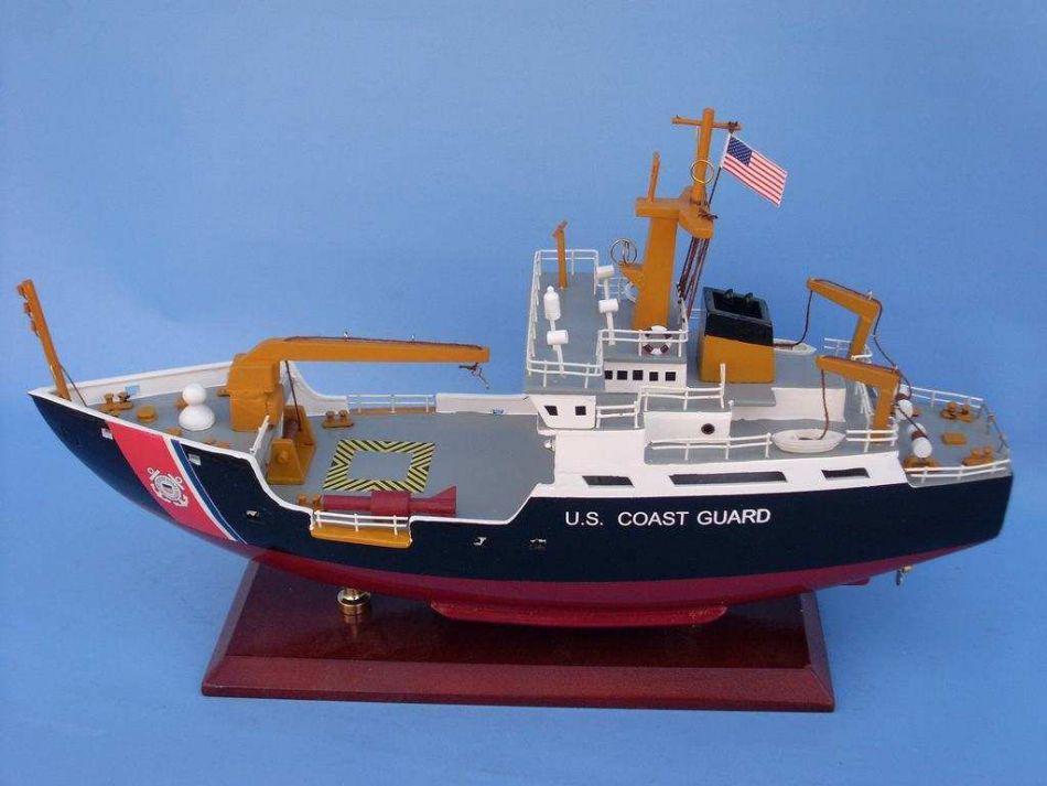 Buy Uscg Buoy Tender 16in Model Ships