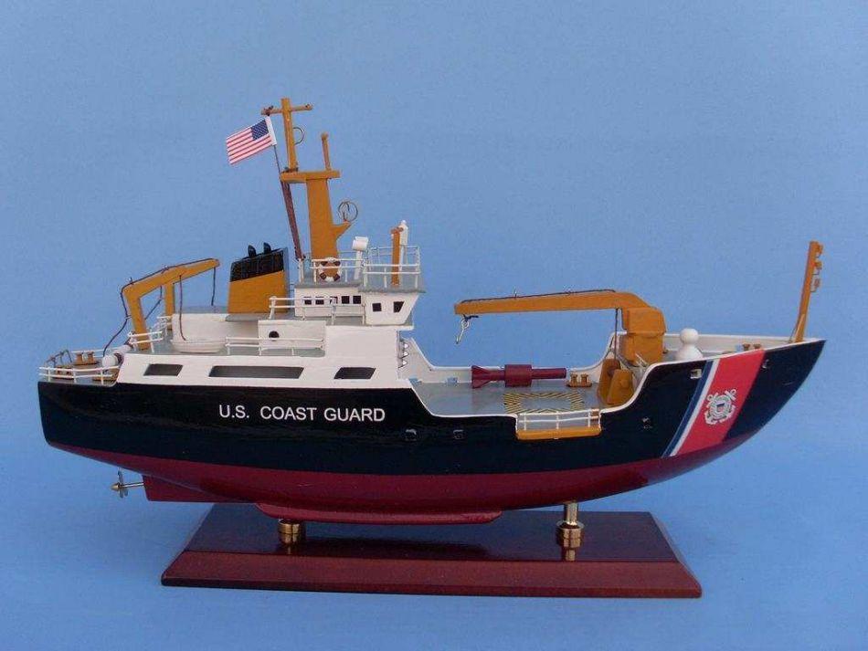 Buy Uscg Buoy Tender 16 Inch Ship Models Model Boat