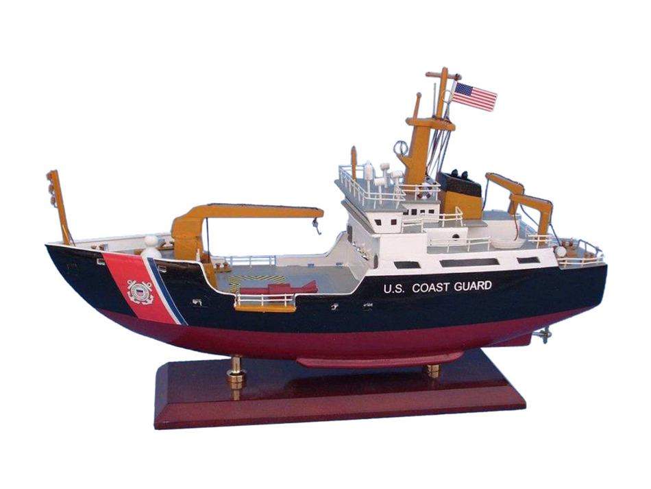 Picture of a model of a USCG Buoy Tender