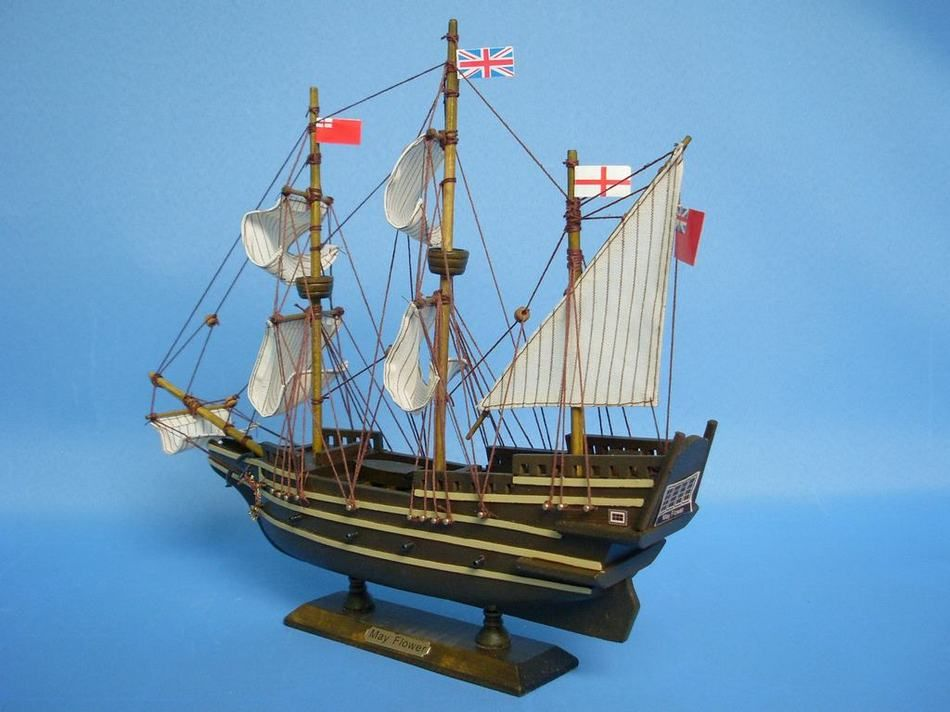 Mayflower 14 Inch Tall Ship Models Model Tall Ship Authentic Models
