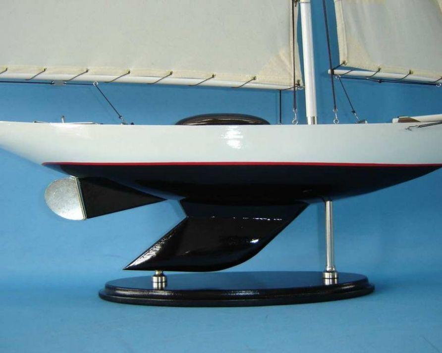 Buy Wooden Modern Decor Sloop 26in Model Ships