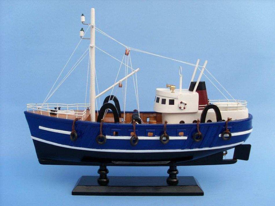 Buy crabmaster 14 inch boat model model fishing for Model fishing boats