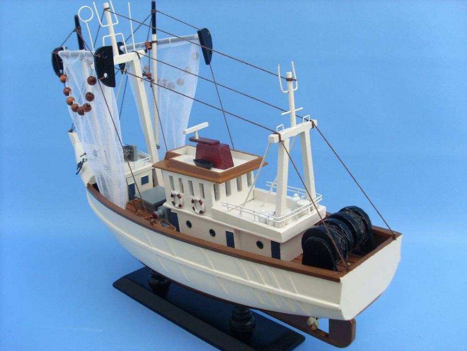 Buy wooden sushi bar model fishing boat 18 inch boat for Model fishing boats