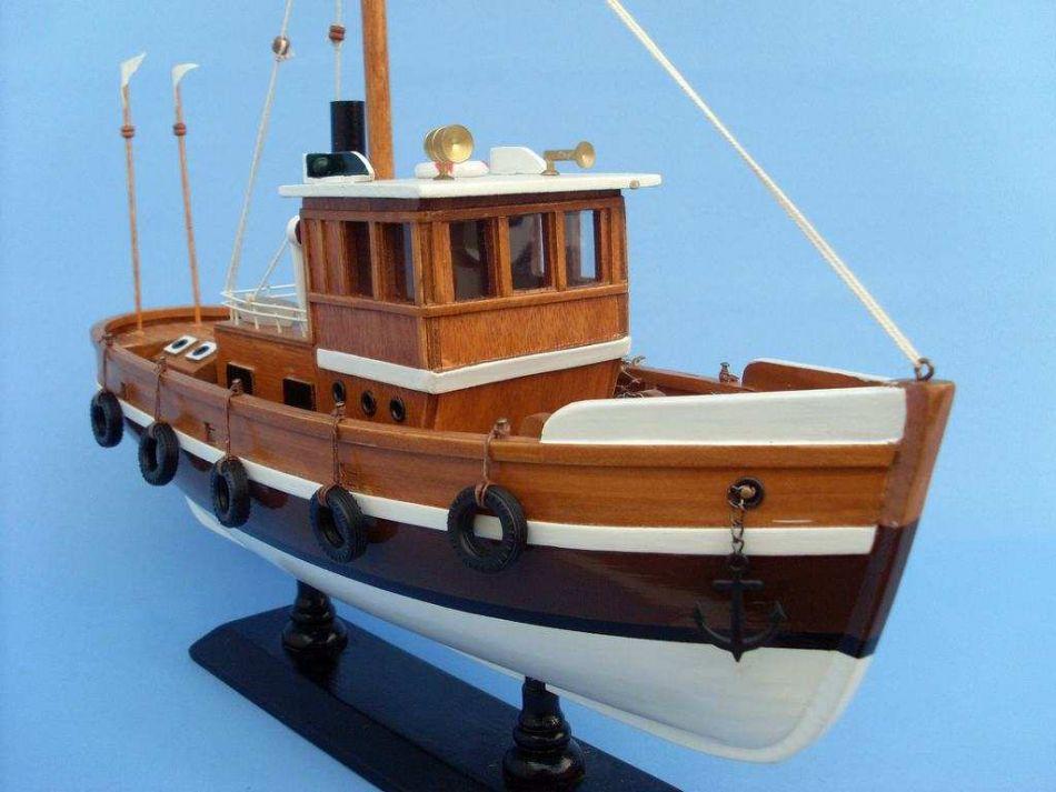 Buy wooden knot working model fishing boat 16 inch model for Model fishing boats