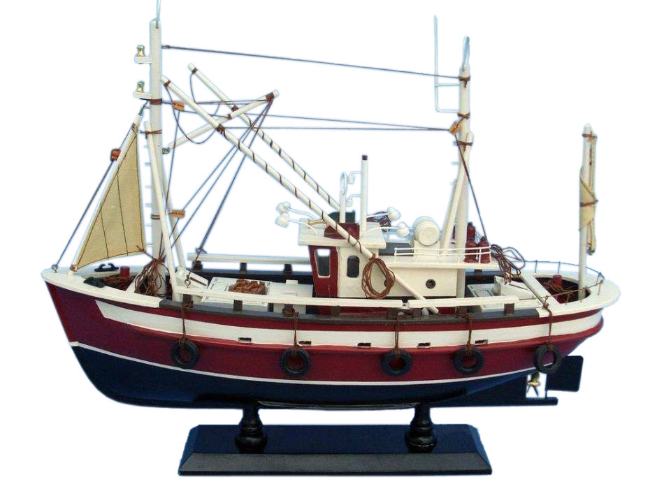 Buy castaway 18 inch models ships model fishing for Model fishing boats