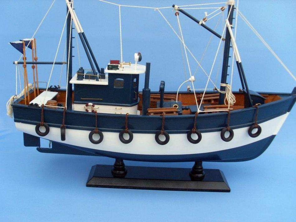 Buy fishful thinking 19 inch ship models model fishing for Model fishing boats