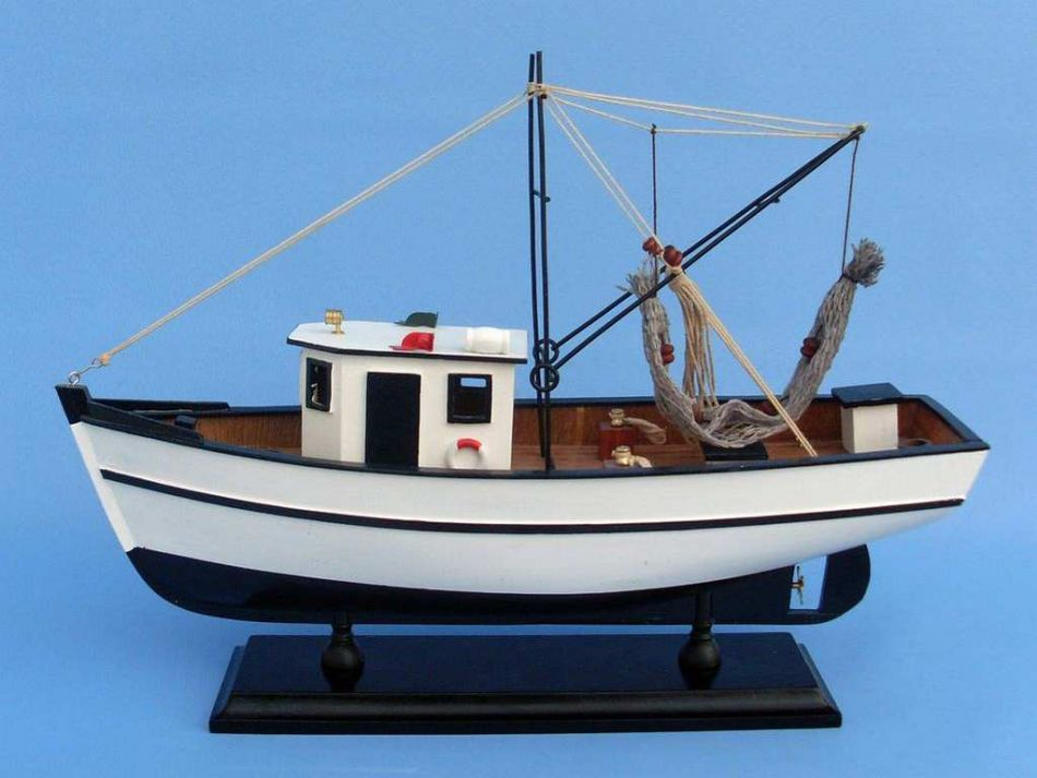 Buy reel busy 16 inch boats model model fishing for Model fishing boats