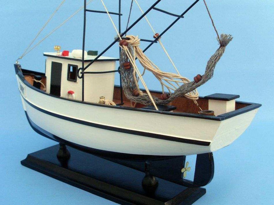 Wholesale forrest gump wholesale jenny shrimp boat 16 for Model fishing boats