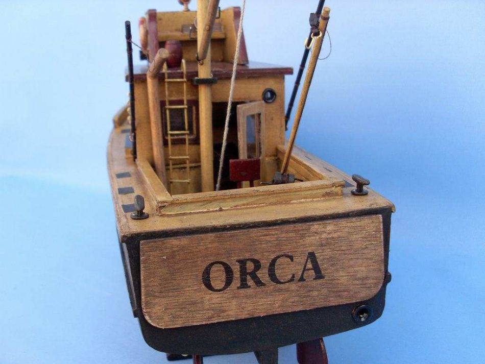 Ideas Jaws orca model boat plans   Boat Plan