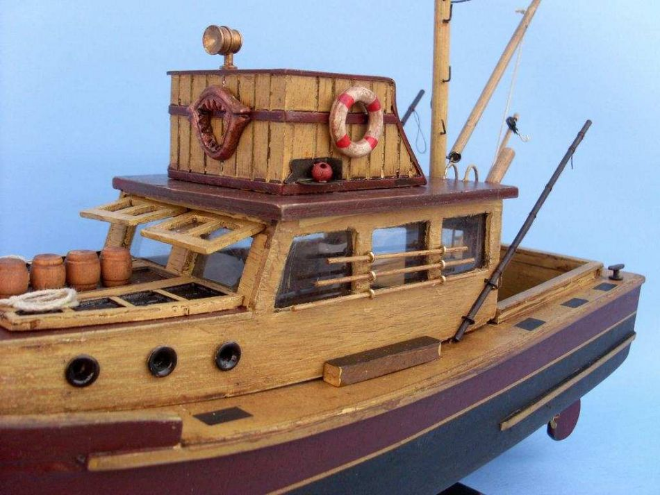 Buy Wooden Jaws - Orca Model Boat 20in - Model Ships