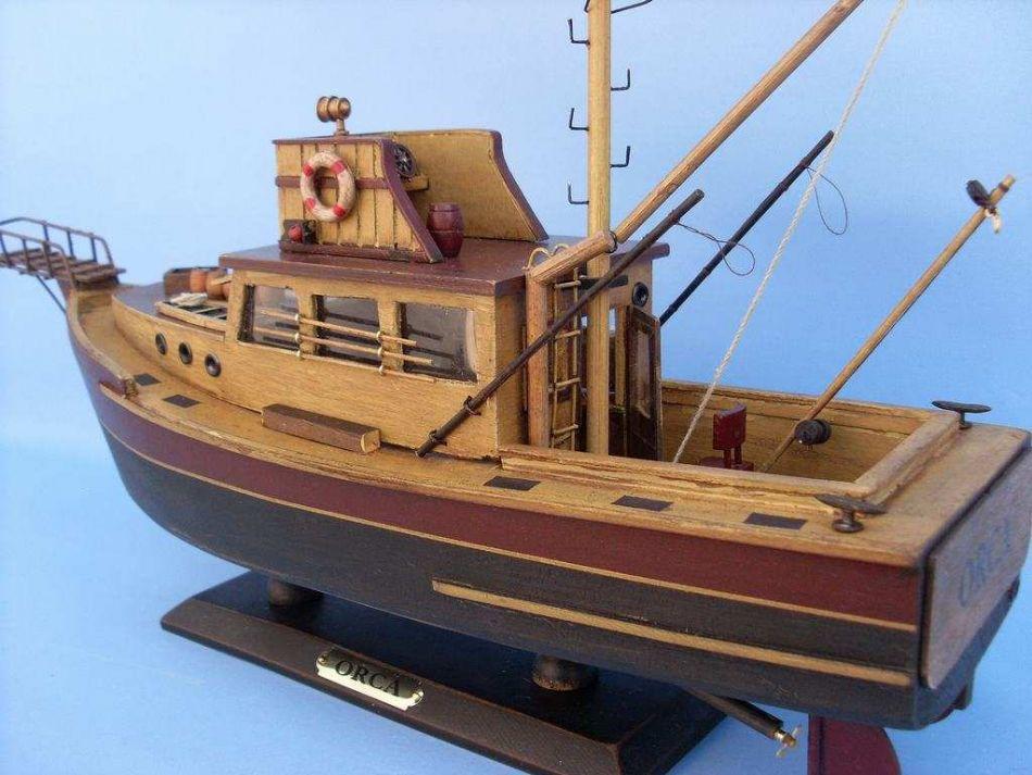 Secret Jaws orca model boat plans | benks