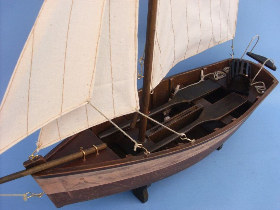 Buy Rustic Yarmouth Cutter 17in Model Ships