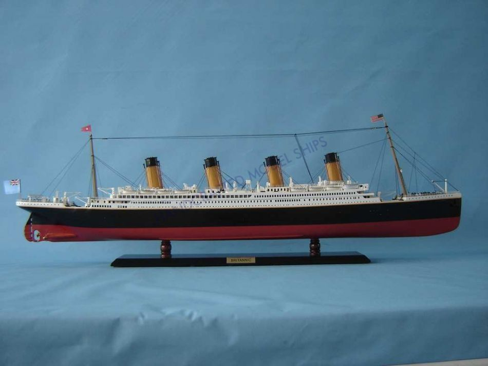 Buy Rms Britannic Limited Rc 40 Quot Model Ship Assembled Titanic Related Cruise Ships Models