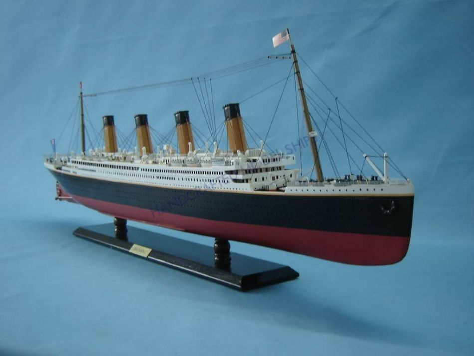 Buy Rms Britannic Limited Model Cruise Ship 40in W Led