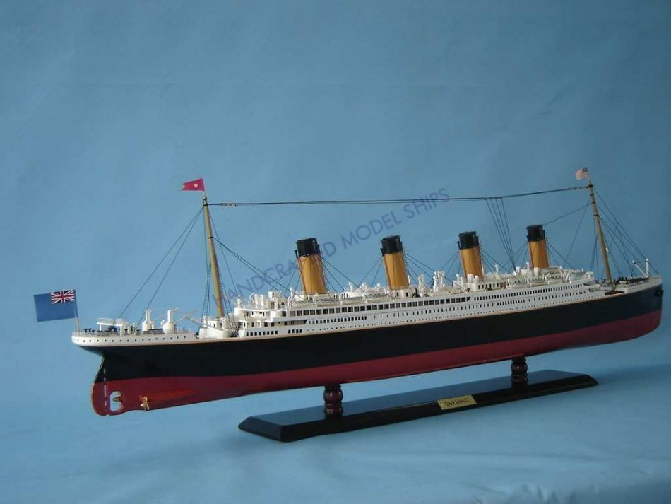 Lobster Boats For Sale >> Buy RMS Britannic Limited Model Cruise Ship 40in - Model Ships
