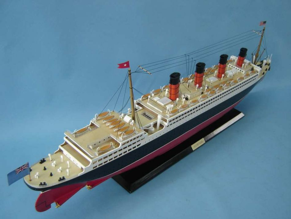 Buy Rms Mauretania Limited Model Cruise Ship 40in Model