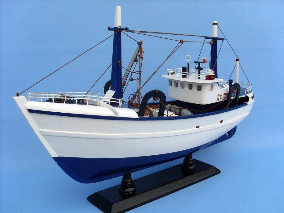 Buy Wooden Calm Seas Model Boat 19in Model Ships