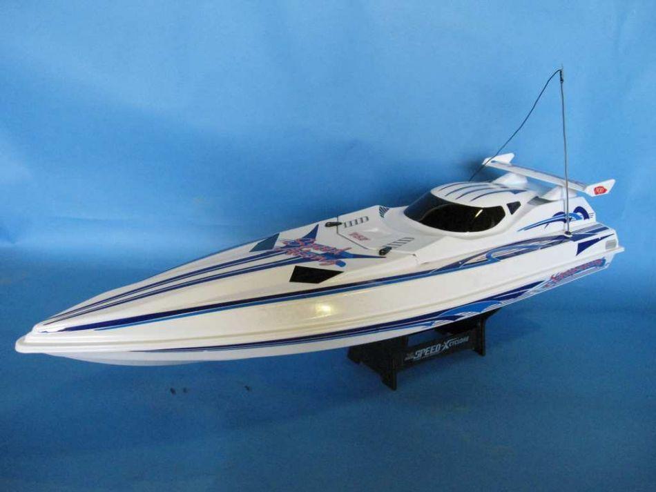 Buy Xcyclone Racing Speedboat 35in Rc Model Ships