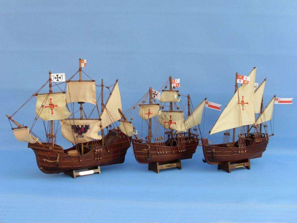 Buy Wooden Pinta Model Ship 12in Model Ships