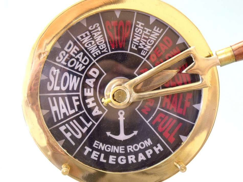 Buy Titanic Engine Room Telegraph 24in Model Ships