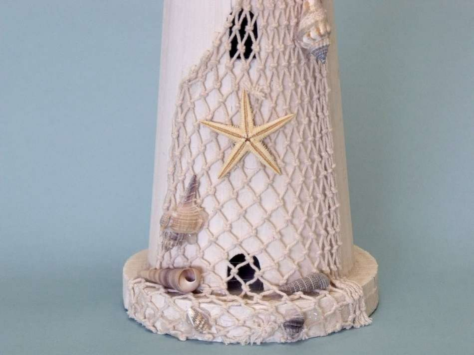 Pelican Wooden Lighthouse 18 Inch Lighthouse Decorations