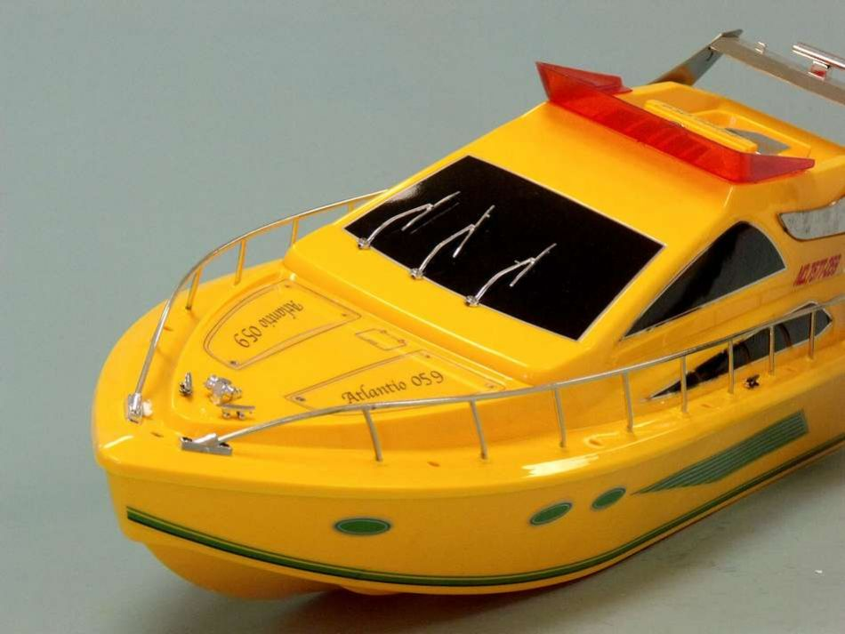Buy Rc Power Cruiser Speed Boat 25in Model Ships