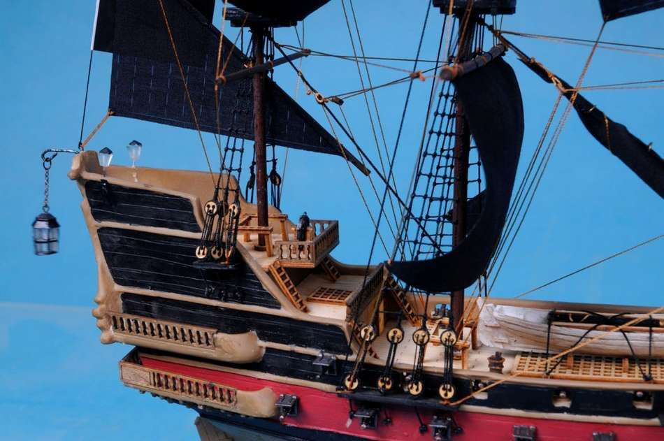 Buy Captain Kidd's Adventure Galley Limited Model Pirate Ship 24 Inch
