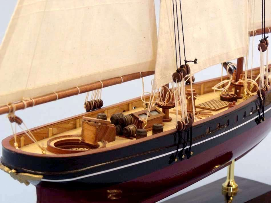 buy wooden america limited model sailboat 24 inch
