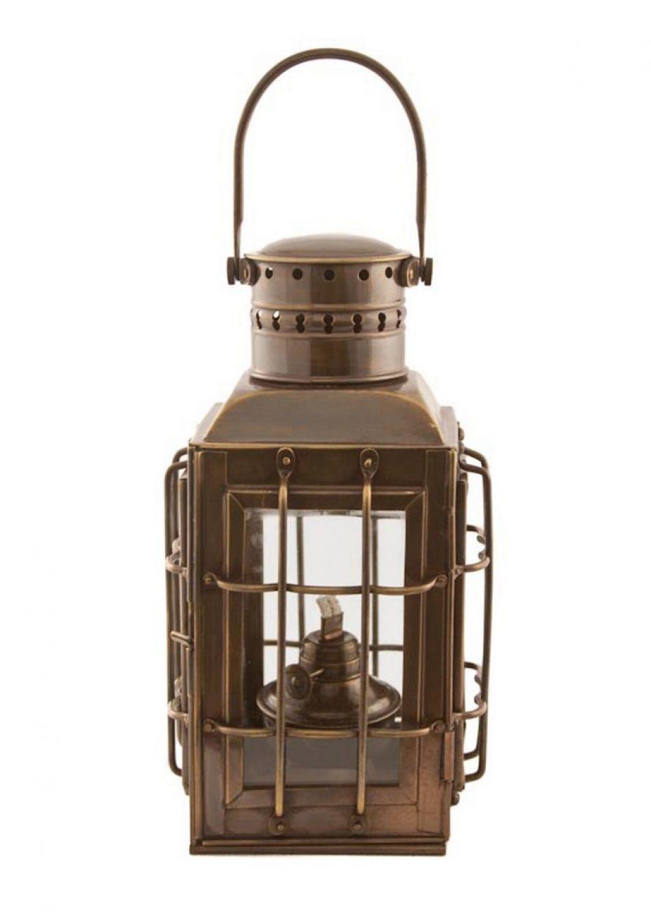 Buy Antique Brass Chiefs Oil Lamp 10in Nautical Decor