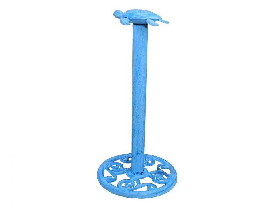 Wholesale Rustic Light Blue Cast Iron Sea Turtle Extra