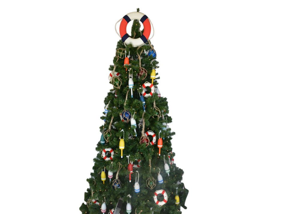 Wholesale Patriotic Lifering Christmas Tree Topper