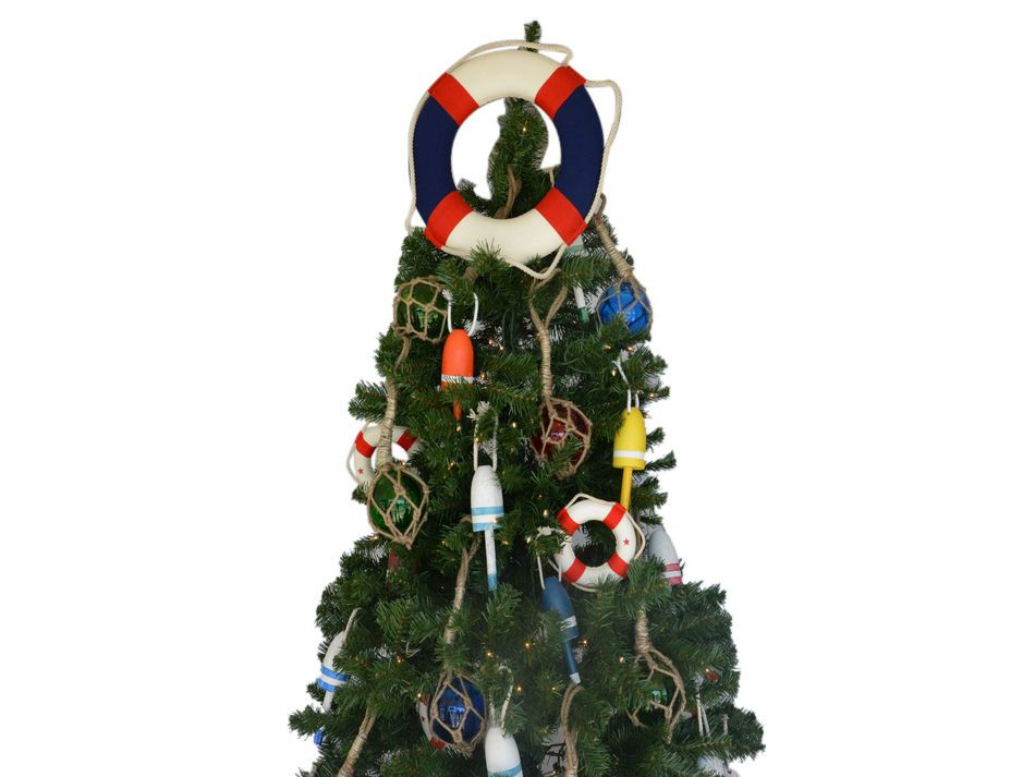 Buy american lifering christmas tree topper decoration for American christmas decoration