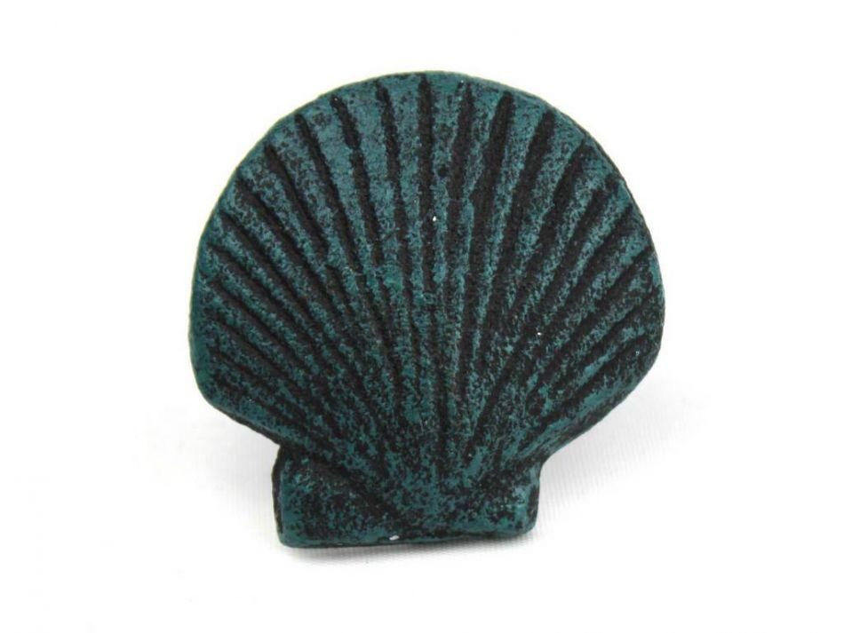 Buy Seaworn Blue Cast Iron Seashell Napkin Ring 2 Inch