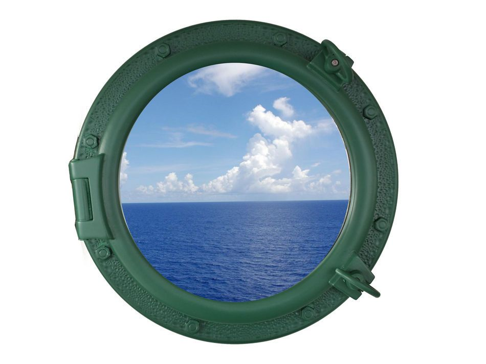 Buy seaworn green decorative ship porthole window 20 inch for Decoration hole